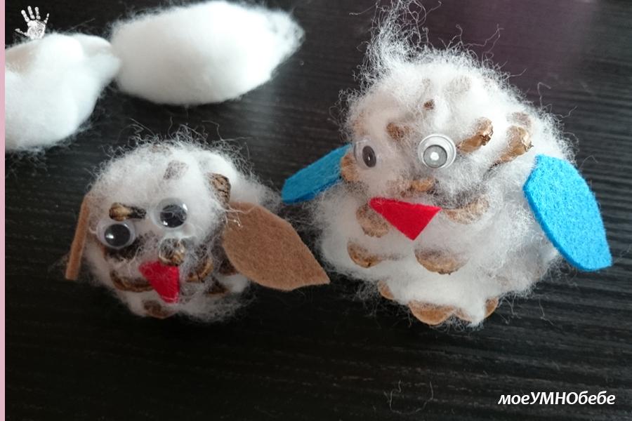 проекти с памук за деца