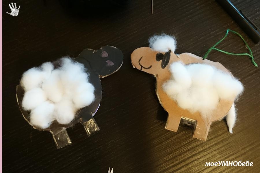 творби с памук за деца