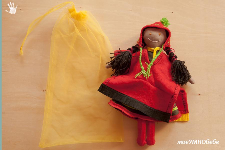 кукла с дрехи