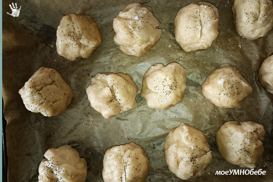 Претцелови хлебчета с квас